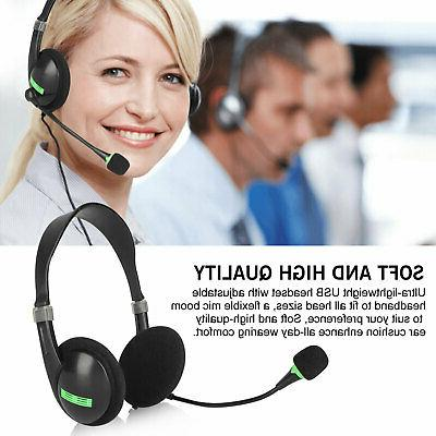 USB Headset with Noise for PC Call