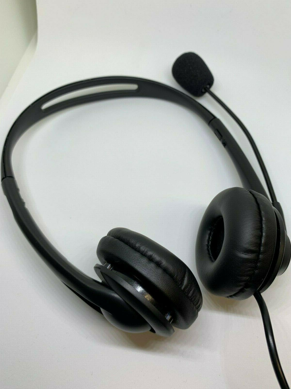 USB Cancelling Headset for Computer Chat/Call