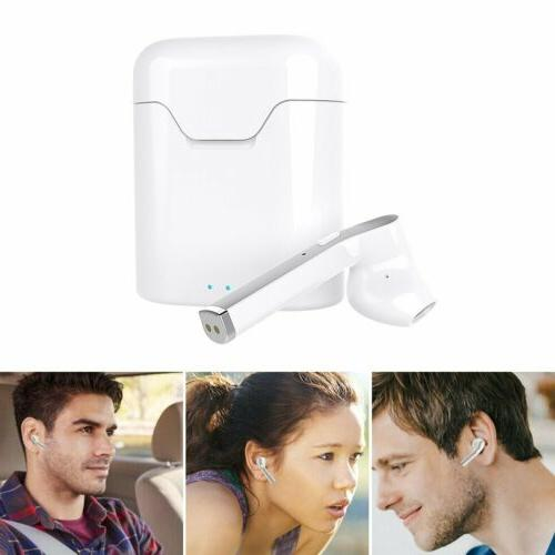 Waterproof 5.0 Earbuds Headphones Headset Cancelling
