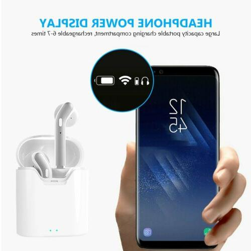 Waterproof Bluetooth Earbuds Headphones Cancelling
