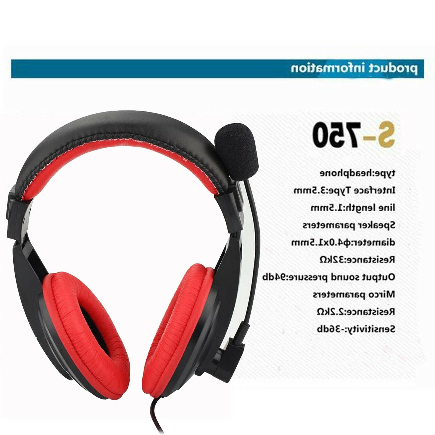 Wired Gaming Headphone PS4 New PC