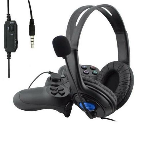Wired Surround Gaming Headset for PS4 New with Mic