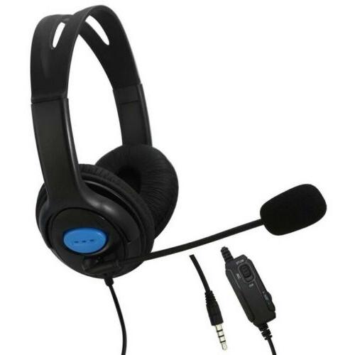 wired stereo bass surround gaming headset