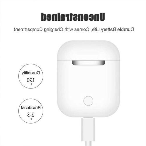 Wireless Bluetooth Earbud Pods With Case Xmas