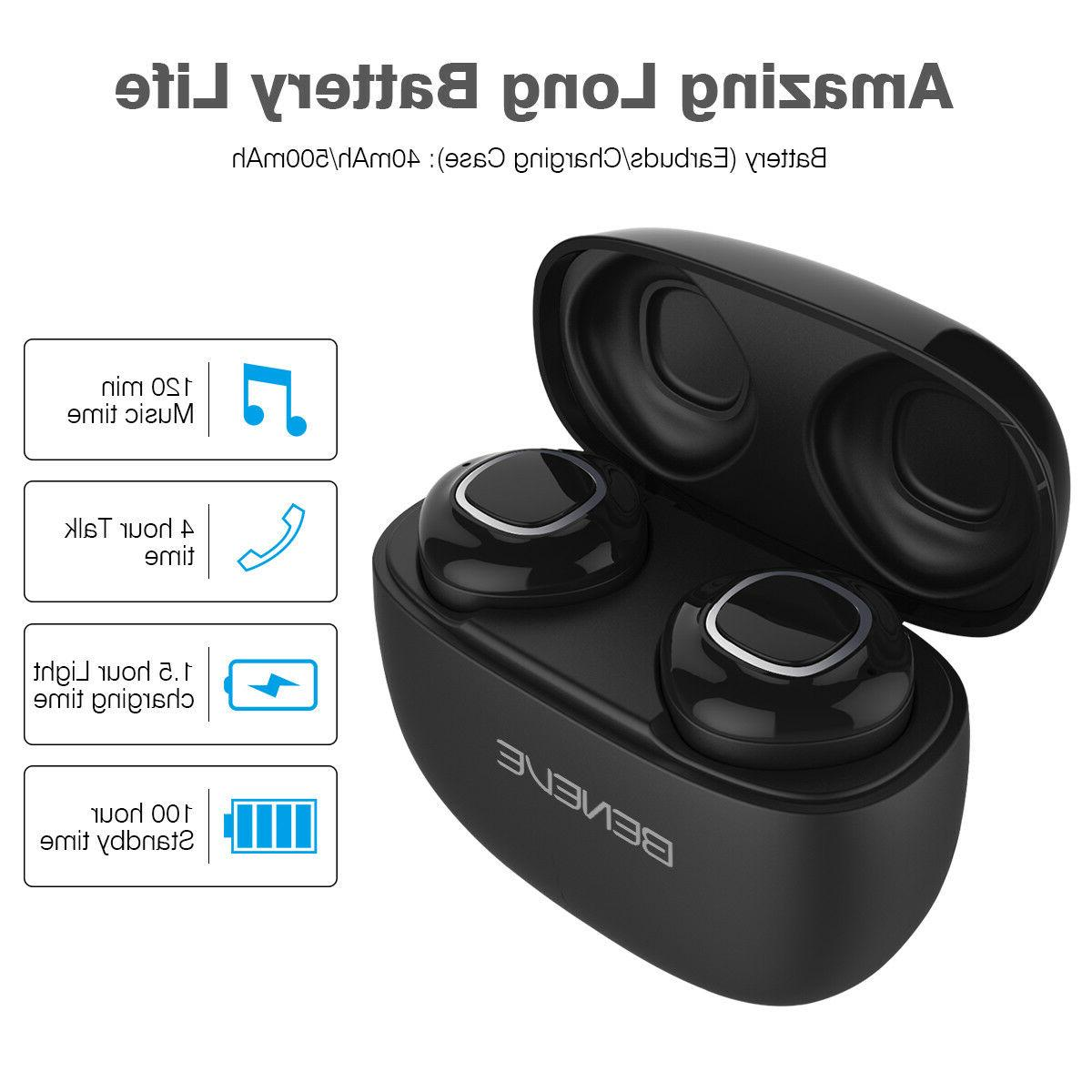 Wireless Bluetooth Headset With Charging