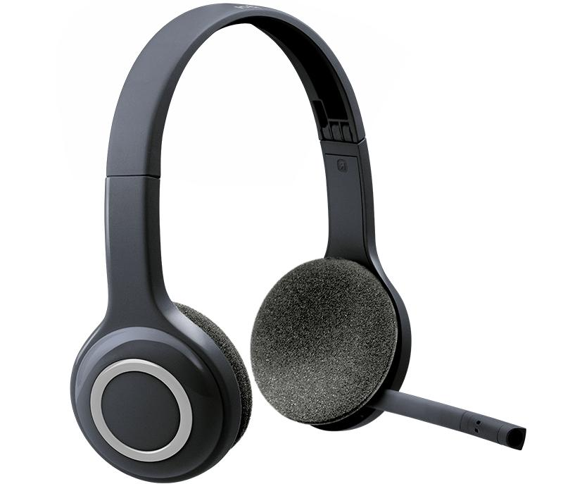 wireless headset h600 with mic noise canceling