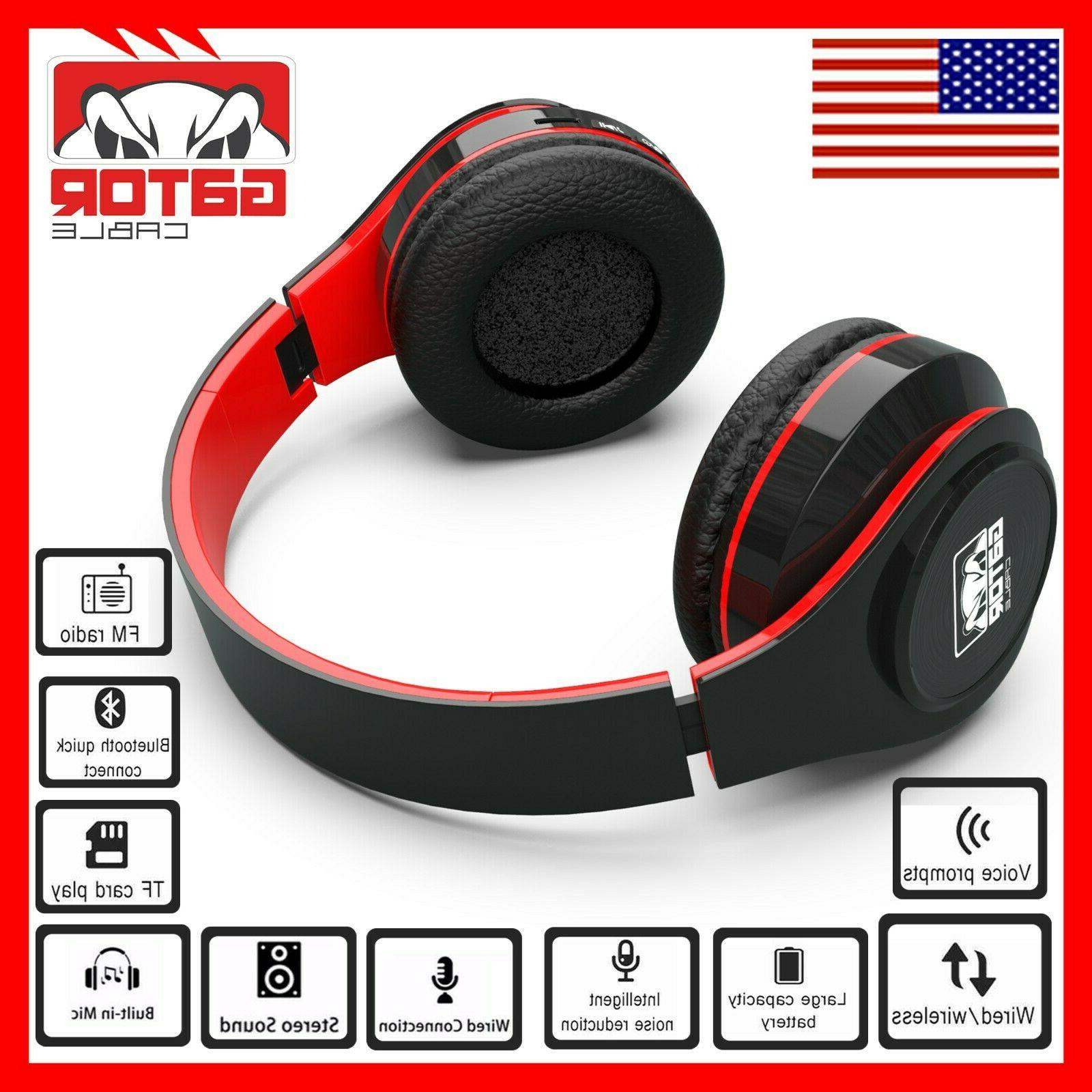 Wireless Headphones Foldable Headset