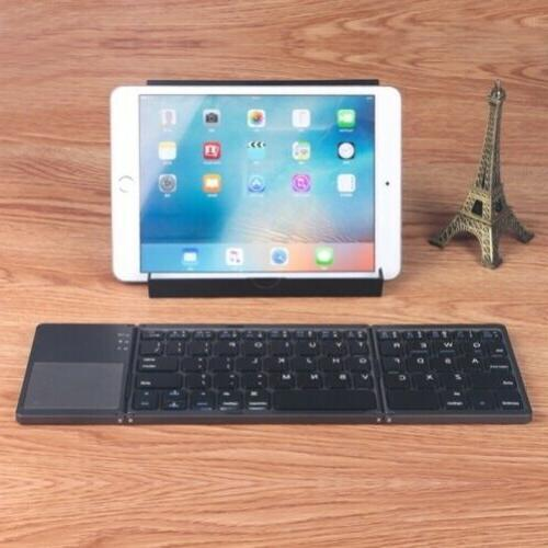 Wireless Folding Rechargeable Portable Keypad for Phones &