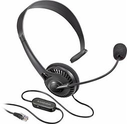 Insignia Landline Phone Hands-Free Headset With RJ9 Connecti