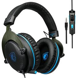 SADES R3 Gaming Headset Over-ear Gaming Headphones with xbo