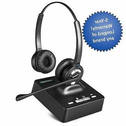 Leitner LH275 Noise-Canceling Dual-Ear Wireless Office Telep