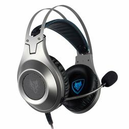 NUBWO N2 Gaming Headset for Xbox One PS4 Playstation 4, Head
