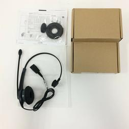 NEW Jabra GN2000 Mono Noise Canceling IP Gray Headband Heads
