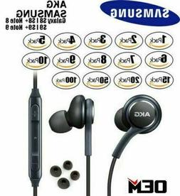 NEW OEM Orginal Samsung S9 S8+ Note 8 AKG Earphones Headphon