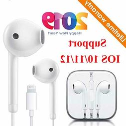Newtion Lighting Earbuds Headphone Wired Earphones Headset w