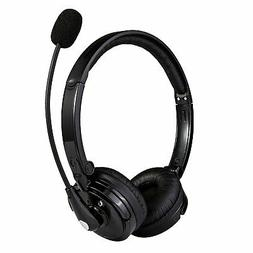 Wireless Bluetooth Headset Noise Cancelling Headphone With B