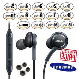 OEM Samsung S9 S8+ Note 8 AKG Earphones Headphones Headset E