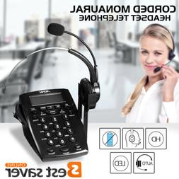 Office Business Phone Dial Pad Call Center LCD Display Telep