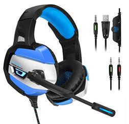 ONIKUMA Gaming Headset - Gaming Headphone for PS4, Xbox One,