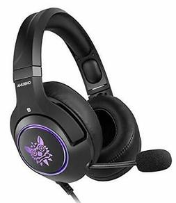 ONIKUMA Gaming Headset for Xbox One PS4 PC 3.5mm Stereo Wire