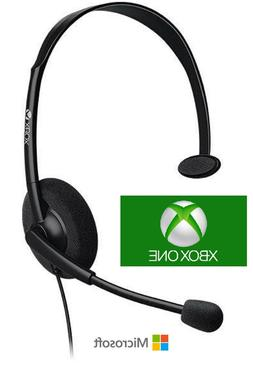 Original Microsoft Chat Gaming Headset for Xbox One Slim Hea