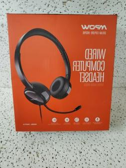 Mpow PA071A Wired Computer Headset with Microphone