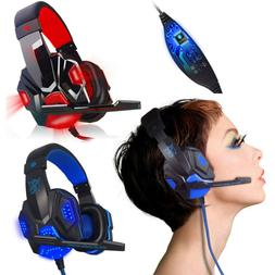3.5mm Gaming Headset Surround Stereo Headband Headphone USB