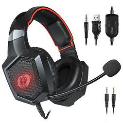 Game Lab Phantom Pro LED Gaming Headset for PS4, Xbox One, P