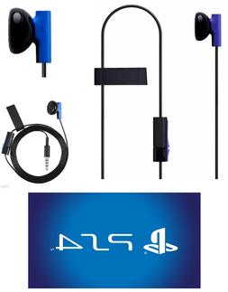 Sony Playstation 4 PS4 Mono Chat Earbud, Headphone with Mic