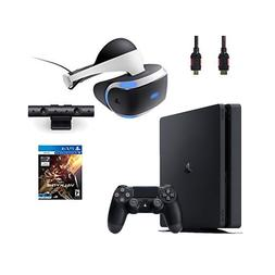 PlayStation VR Bundle 4 Items:VR Headset,Playstation Camera,