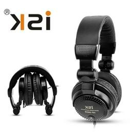Portable Audio Studio Monitor Headphones Headset DJ Gaming F
