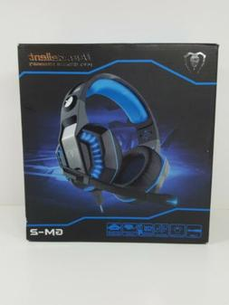 BEEXCELLENT Pro Gaming Headset GM-2 Red/Black Microphone Sur