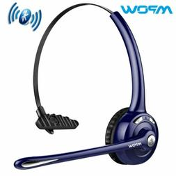 Mpow Pro Trucker Bluetooth Headset Cell Phone with Mic Offic