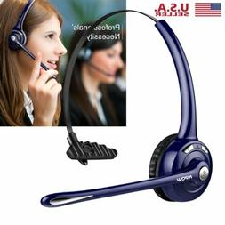 Mpow Pro Trucker Wireless Bluetooth Headset Headphone Earpho