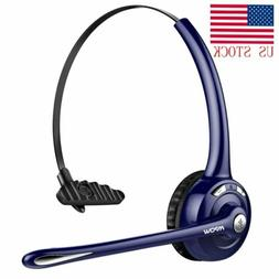 Mpow Pro Trucker Bluetooth Headset Phone Headset Headphone w
