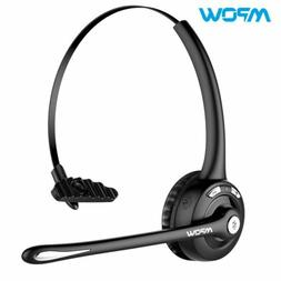 Mpow Pro Trucker Office Bluetooth V5.0 Headset Noise Cancell