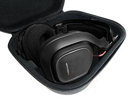 CASEMATIX Protective PC Gaming Headset Storage Case Bag - fi