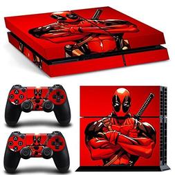 ps4 console designer protective vinyl skin decal