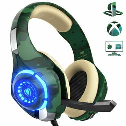 PS4 Gaming Headset with mic, Beexcellent Xbox One Headset wi