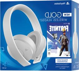 Sony PS4 Gold Wireless Headset  7.1 Surround Same Day Ship b