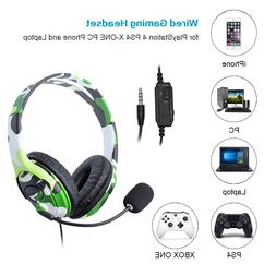For PS4 Wired <font><b>Gaming</b></font> <font><b>Headset</b