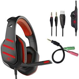 PS4 Xbox One Gaming Headset, Beexcellent GM-3 Gaming Headset