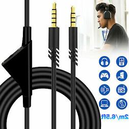 replacement audio cable cord volume control