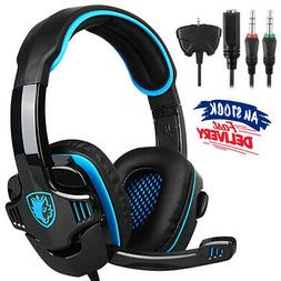 SADES SA-708 GT Gaming Headsets Headphone With Mic For PS4 X