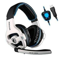 SADES SA-903 Noise Cancelling Gaming Headset- With Mic - USE