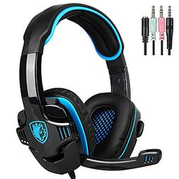 SADES SA708GT Gaming Headset for Xbox One, PS4, PC, Volume C