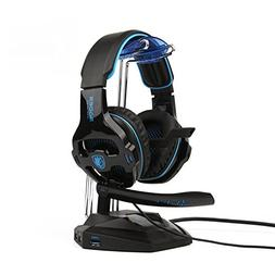 SADES SA810 Stereo Gaming Headset for Xbox One PC PS4 Over-E