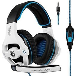SADES SA810 New Updated Xbox One mic PS4 Headset Over Ear St