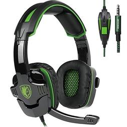 SADES SA930 3.5mm wired Multi-Platform Gaming Headphones wi
