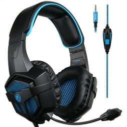 SADES SA807 Wired Gaming 3.5 Headphones With Microphone Ster